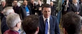 """Renzi a Brescia, Fiom: """"Avevamo incontro con il premier, ma non si è fatto vedere"""""""