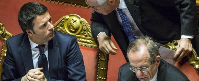 Banche, scontro Renzi-Monti. Intanto i titoli mandano a picco Piazza Affari