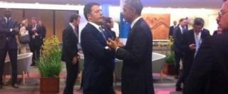 G20, Renzi: 'I Grandi d'accordo: austerità non basta'. Colloquio con Obama