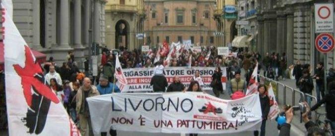 Rigassificatore Livorno, raddoppia peso su bollette: nel 2015 costerà 83 milioni