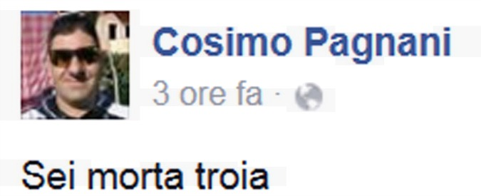 """Cosimo Pagnani, uccide ex moglie e lo annuncia su Facebook: """"Sei morta troia"""""""