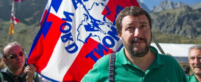"""Lega Nord, dal 1° dicembre chiude 'La Padania'. Salvini: """"Colpa di Renzi"""""""