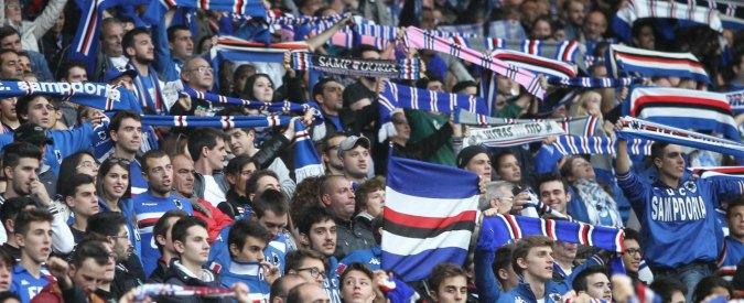Sampdoria, la maglia che ti incoraggia: sotto lo scudetto il chip fa partire un coro
