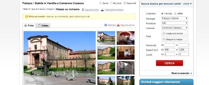 In vendita case dei grandi del passato. Da Jacopone da Todi a Napoleone e Leonardo