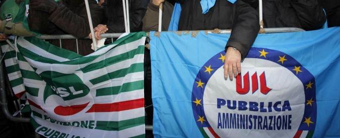 """Stabilità, i sindacati: """"Statali pronti allo sciopero"""". Renzi: """"No scontri su lavoro"""""""