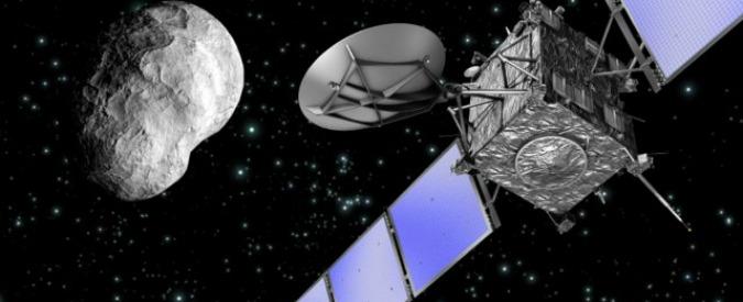 Rosetta, sonda inizia la discesa verso la cometa  67P/Churyumov-Gerasimenko