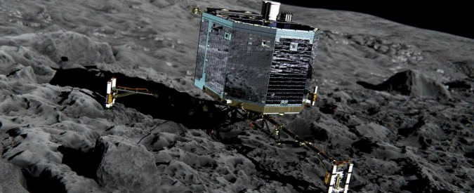 Rosetta, la sonda è atterrata sulla cometa 67P/Churyumov-Gerasimenko