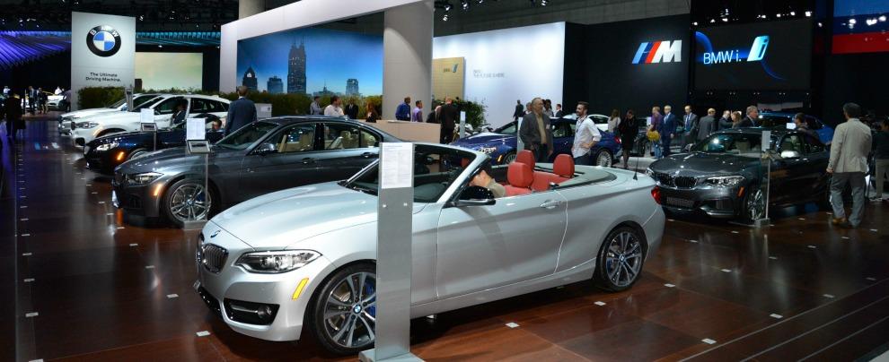 Stand BMW al Salone di Los Angeles 2014