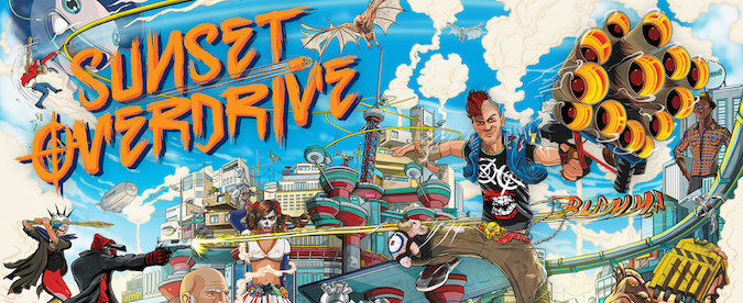 Sunset Overdrive: la follia di Insomniac arriva su Xbox One