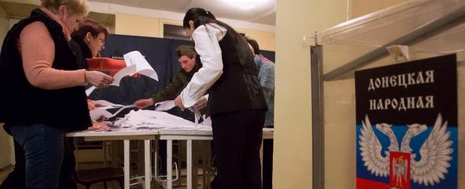"""Elezioni Ucraina, separatisti vincono a est. L'Unione europea a Mosca: """"Voto illegale"""""""