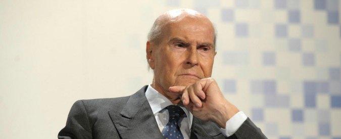 """Antonino Zichichi a Umberto Veronesi: """"Dio esiste e la prova è l'universo"""""""