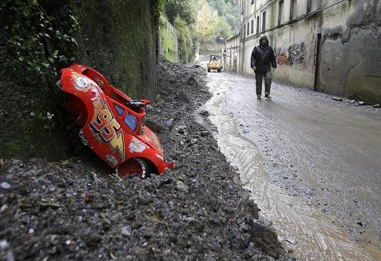 Alluvione Genova, situazione drammatica