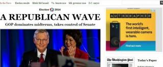 Elezioni Midterm Usa 2014, le prime pagine dei quotidiani (foto)