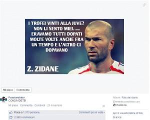 zidane pagina Fb