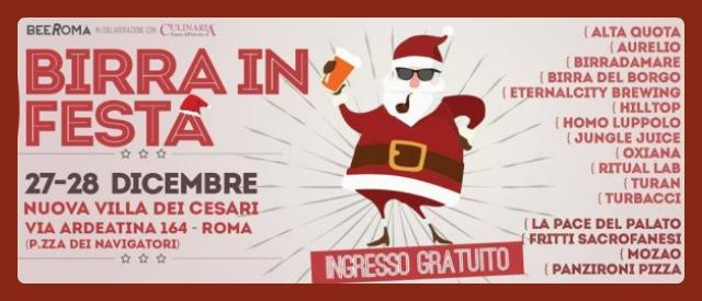 """""""Birra in Festa"""": a Roma due giorni di bionde artigianali e street food"""