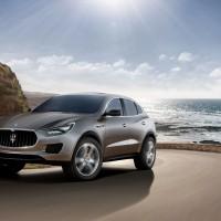 Maserati Levante (qui la concept Kubang)