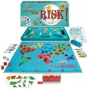 """Ecco come appare la ristampa dell'edizione 1959 di """"Risk!"""", in Italia noto come Risiko!"""