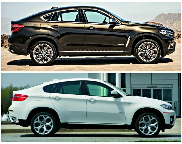 BMW X6 2008-2014 confronto