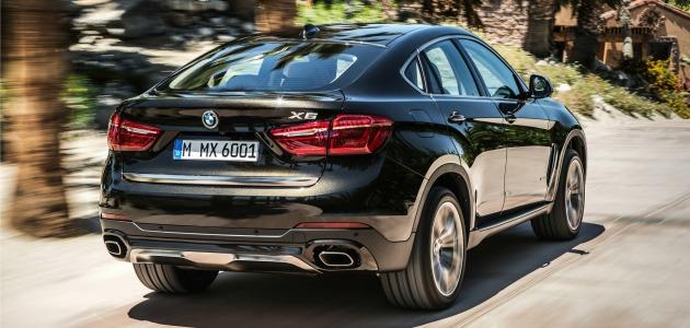 BMW X6 prova Fatto Q posteriore