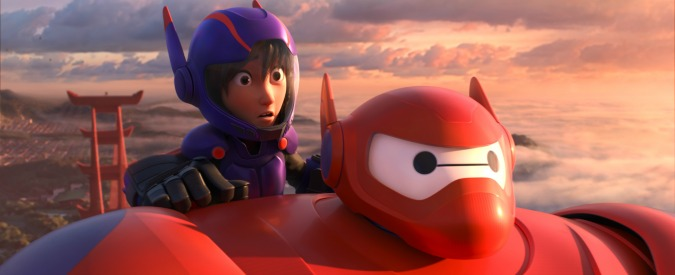 """""""BIG HERO 6"""" Pictured (L-R): Hiro & Baymax. ©2014 Disney. All Rights Reserved."""