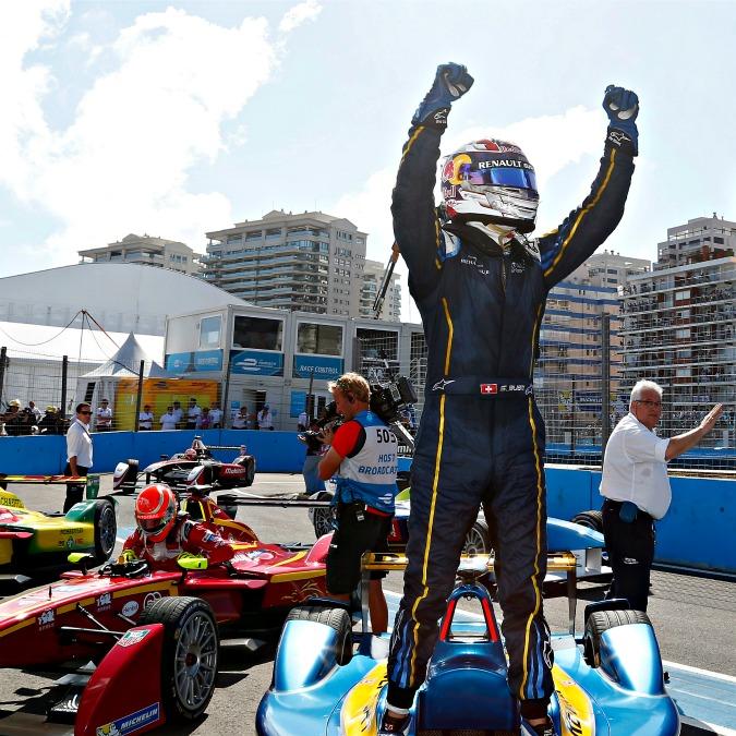 Formula E, Sebastian Buemi vince il terzo GP delle monoposto elettriche
