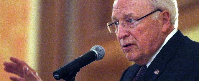 """Torture della Cia, Nyt: """"Obama metta in stato d'accusa ex vicepresidente Cheney"""""""
