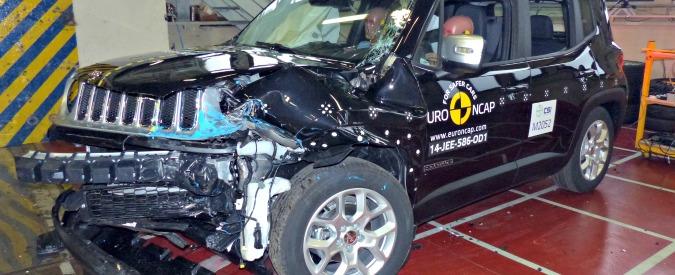 Crash test EuroNCAP, 5 stelle a Jeep Renegade e Audi A3 ibrida, 4 alla Kia Soul