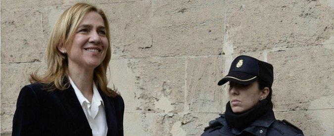 Cristina di Spagna, ex infanta a processo. E' prima volta per membro famiglia Reale