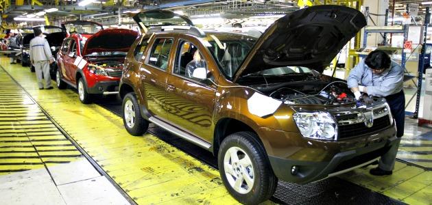 Dacia Duster fabbrica