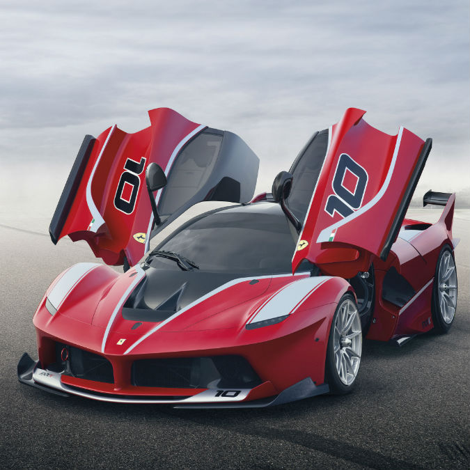 Ferrari FXX K, la vettura-laboratorio da 1.050 CV che non deve rispettare regole
