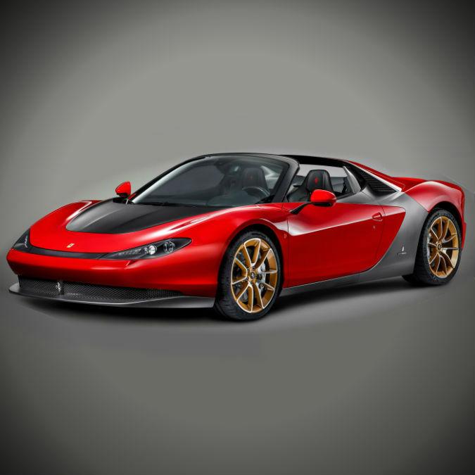 Ferrari Sergio, a uno dei sultani degli Emirati Arabi il primo di sei esemplari