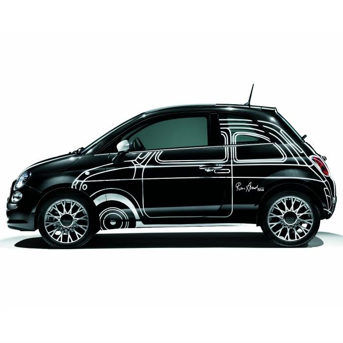 Ron Arad Edition, la Fiat 500 celebra il modello storico. A 19.000 euro