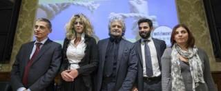 """Quirinale, Grillo: """"Ok anche a candidato di altri, ma che sia fuori dal pantano"""""""