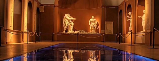 Interno Museo archeologico dei campi flegrei