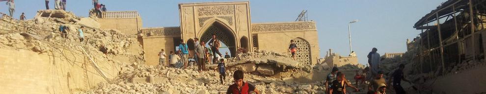 10 GIUGNO - I miliziani dello Stati Islamico entrano a Mosul e il 25 luglio distruggono la moschea del profeta Giona di Mosul