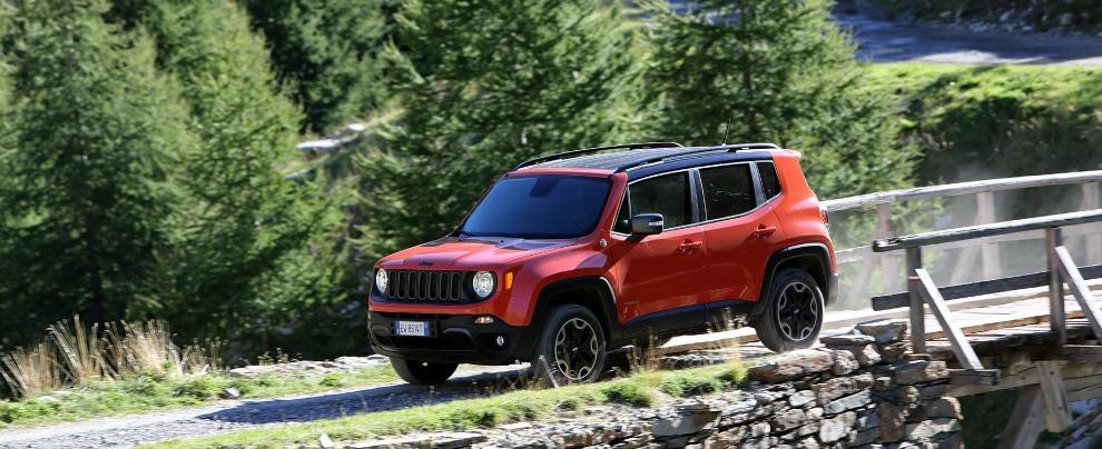 """Renegade Trailhawk, la versione top della Jeep """"made in Italy"""" – Fotogallery"""
