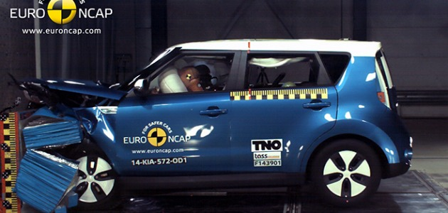 Kia Soul EV crash test