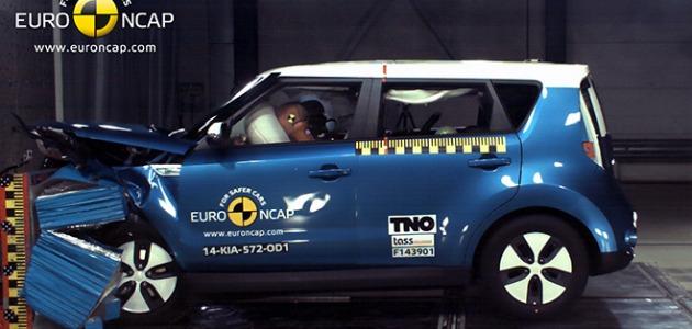 Kia Soul EV crash test