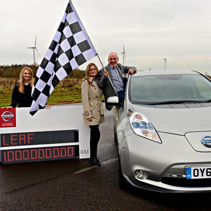 """Nissan Leaf, un miliardo di chilometri """"elettrici"""" in quattro anni"""