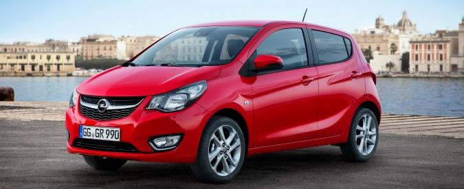 Opel Karl, la piccola da meno di 10.000 euro. Nome tedesco, produzione coreana