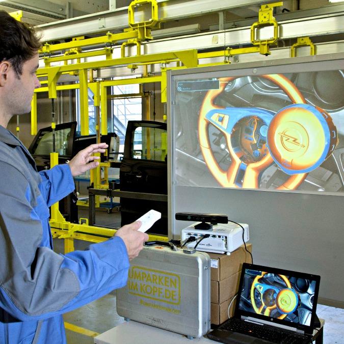 """Opel, imparare ad assemblare i componenti """"giocando"""" con la Wii"""