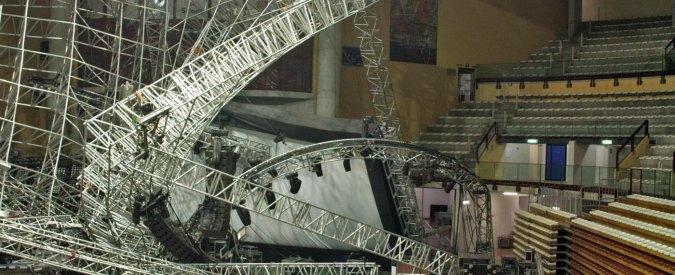 Crollo palco Jovanotti, condannato a tre anni l'ingegnere Guglielmo