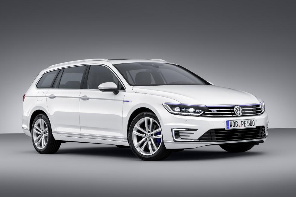 Volkswagen Passat e Golf GTE ibride plug-in