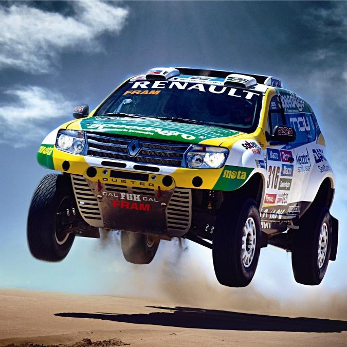 La Duster alla Dakar 2015, questa volta punta a piazzarsi fra le prime dieci