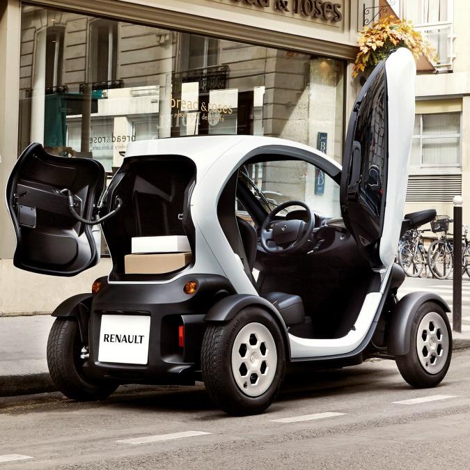 Renault Twizy Cargo, il quadriciclo per (mini) consegne elettriche