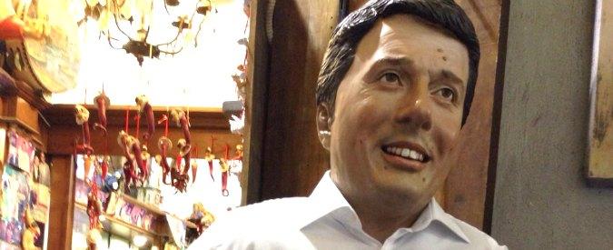 """Natale 2014,  le statuette del presepe di San Gregorio Armeno: """"boom"""" per Renzi"""