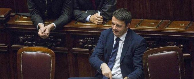 """Renzi a M5s: """"Non siete qui solo per insultare. Abbiamo bisogno anche di voi"""""""
