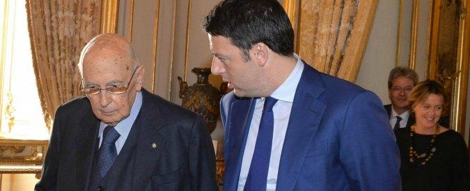 """Napolitano: """"Imminente conclusione mio mandato. Renzi? Non c'erano alternative"""""""