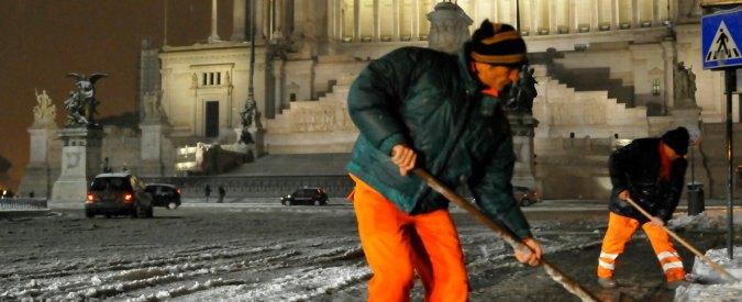 """Mafia Capitale, """"40 mila euro in tangenti per gli appalti dell'emergenza neve"""""""