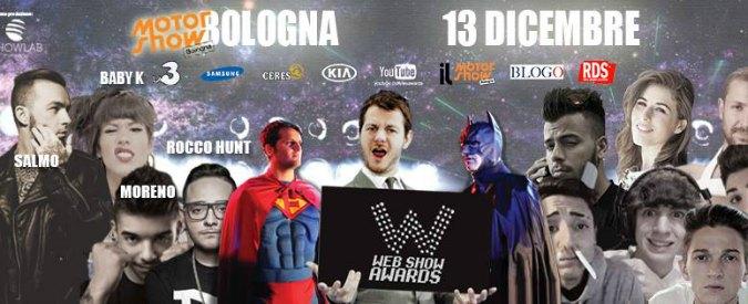 Web show awards 2014, a Bologna il premio per le star della rete